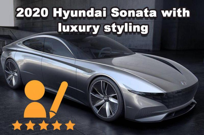 2020 Hyundai Sonata with luxury styling